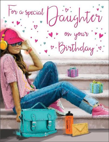 For A Special Daughter On Your Birthday Music C80213
